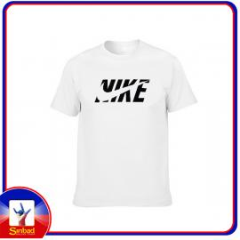 Unisex t-shirt, printed with the nike logo- white color