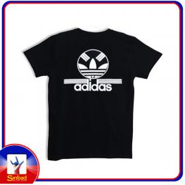 Unisex t-shirt, printed with the adidas logo- black color