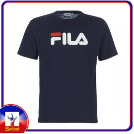 Unisex t-shirt, printed with the fila logo- dark color