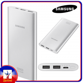 Original Samsung Power Bank Fast Charger 10000 mAh 2 Ports