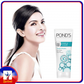 POND'S ANCE CLEAR Anti-Acne Facial Foam Fight 10 oil and pimple problems with the Acne Clear White Facial Foam from Pond's