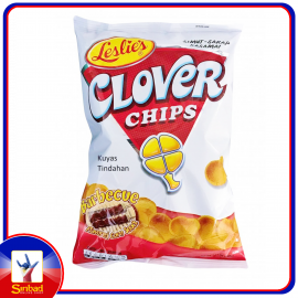 Leslies Clover Chips Barbeque 85g