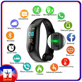 Intelligent Health Bracelet M3 Smart Bracelet Fitness Tracker Smart Band With Heart Rate M3c Waterproof Bracelets