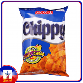 Jack N' Jill CHIPPY CHILIAND CHEESE CORN CHIPS 110g