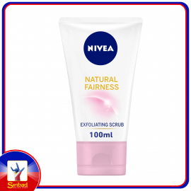 Nivea Natural Fairness Exfoliating Facial Scrub 100ml