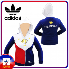 Adidas Philippine Flag Design Track Jacket
