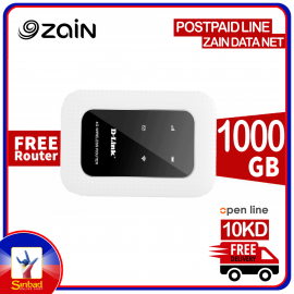 Zain Offer Free Open Line Router With Simcard 1000GB Internet