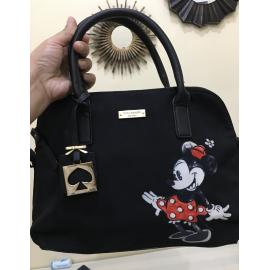 Preloved !! kate spade bag black with mickey design