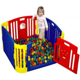 Baby Bear Zone Gp-8011 Fencing Playground With Latch Gate Game by IdeaPlay