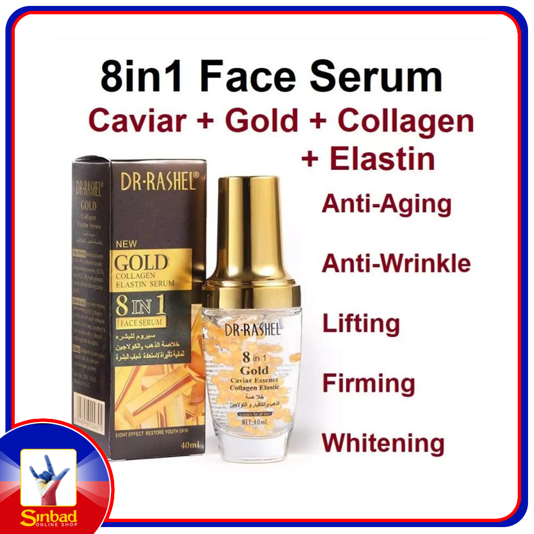 Dr Rashel New Caviar Collagen Elastin 8-In-1 Face Serum 40ml
