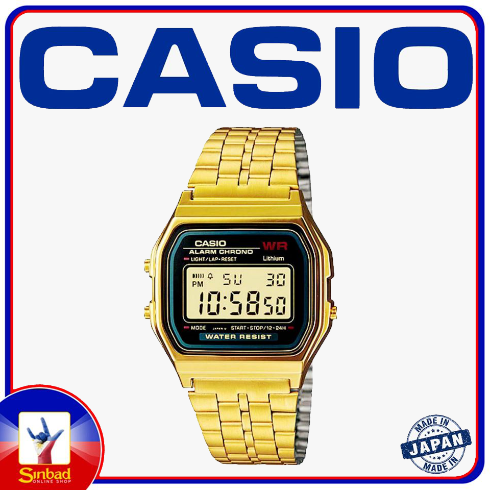 Classic Casio watch Gold Color made in japan