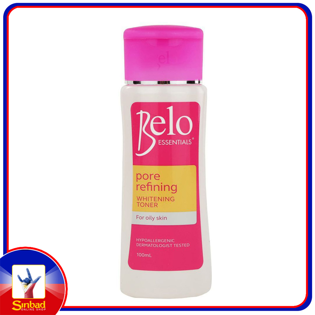 BELO Essentials Pore Refining  Whitening Toner for Oily Skin (100ml)