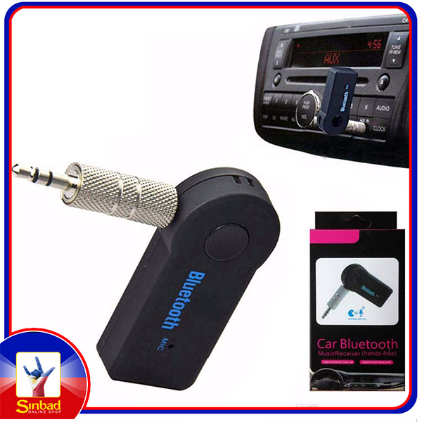 Car Bluetooth Device with 3.5mm Connector, USB Cable