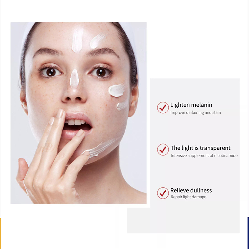 DUcare  Freckle cream Whitening Fade Cream Lightening Blemish Removal Serum Reduces Age Spots Freckles Face Cream Dark Spot Corrector Remove Freckle Improving Dull Skin Anti Aging Refreshing Not Greasy 20G