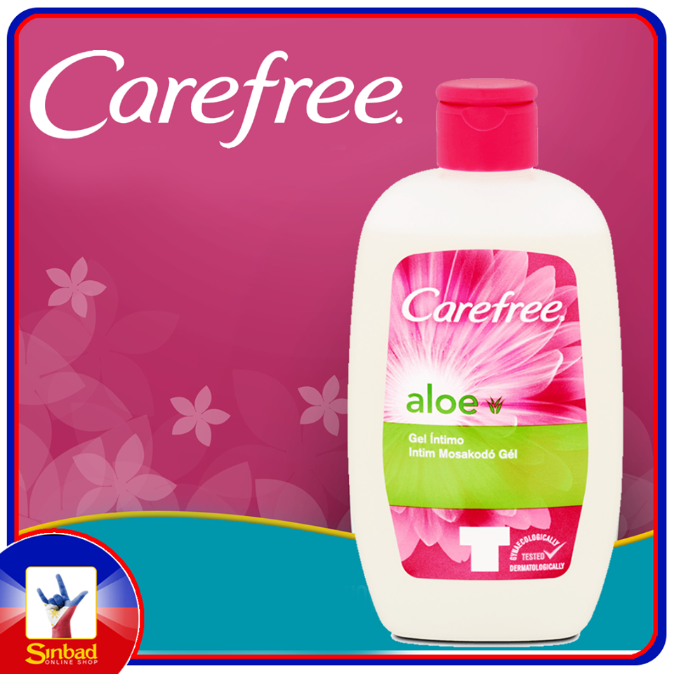 Carefree Intimate Wash with Aloe 200ml