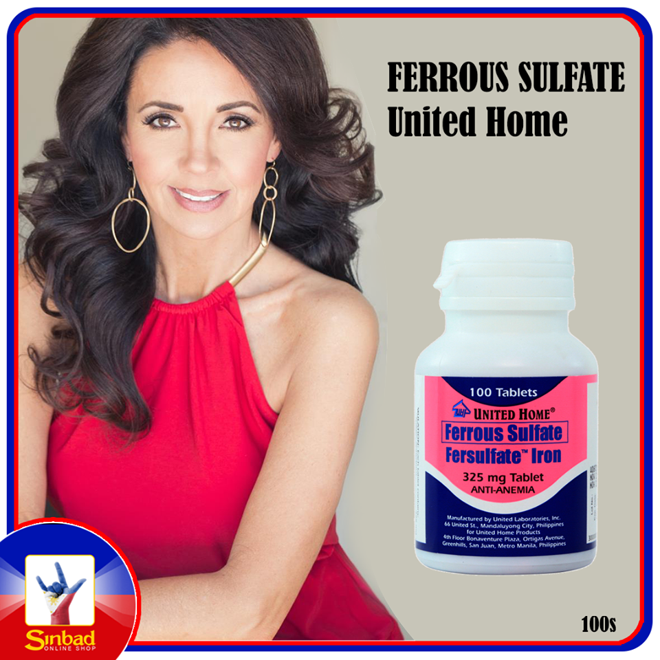 FERROUS SULFATE United Home 100s