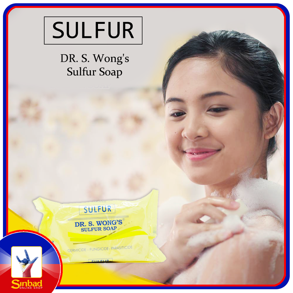 Dr. Wong's Sulfur Germicide Fungicide Soap for Acne Scabies Psoriasis Lice 135g