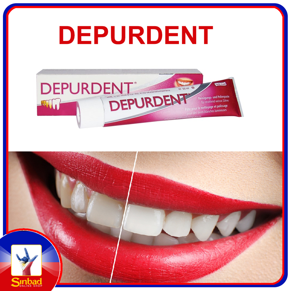 DEPURDENT | Toothpaste Cleaning And Polishing 50ML.