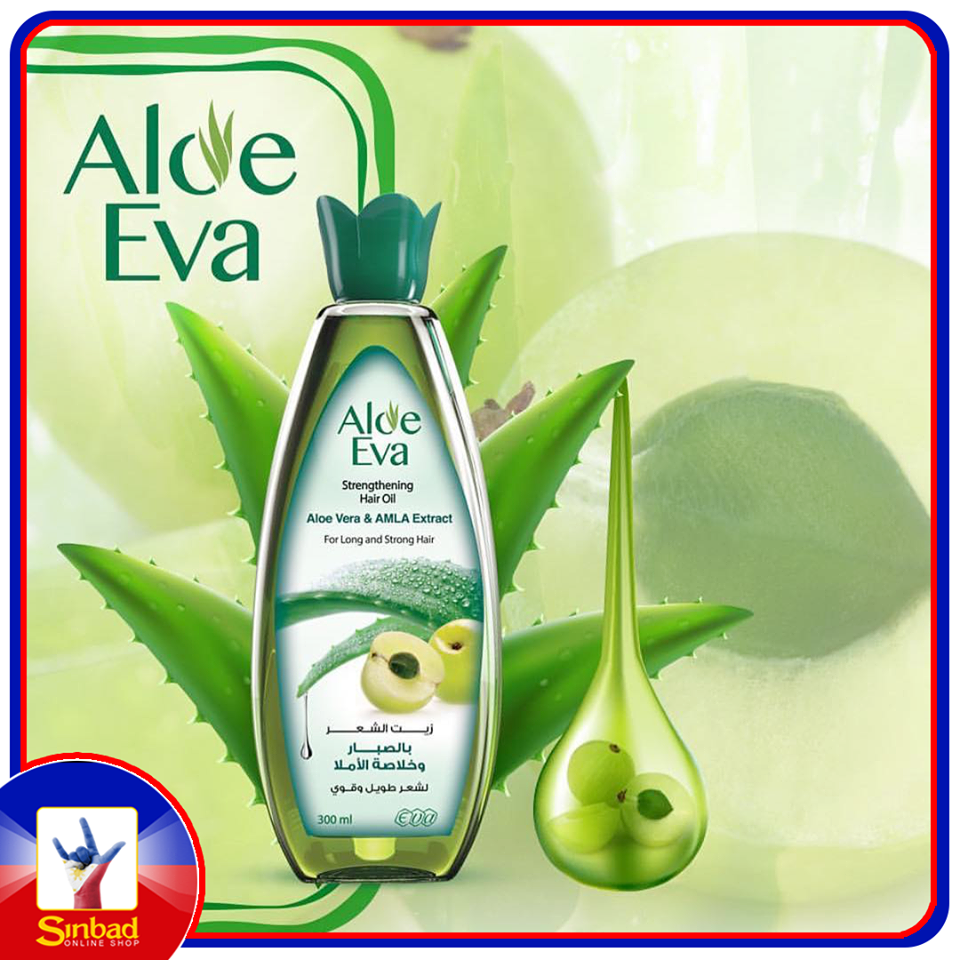 Aloe Eva Strengthening Hair Oil Aloe Vera & Amla Extract 300ml