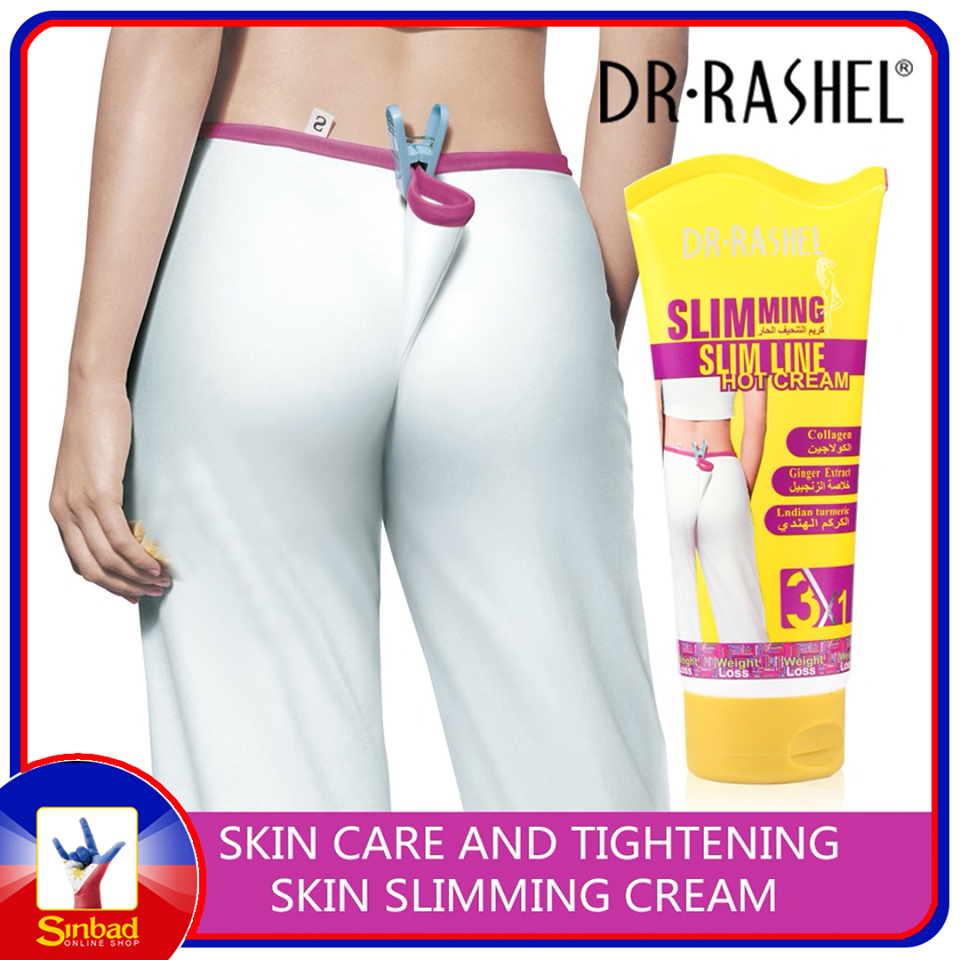 DR.RASHEL Slimming Cream Anti Cellulite Lotion Fat Burner Weight Loss Massage Cream 150 g