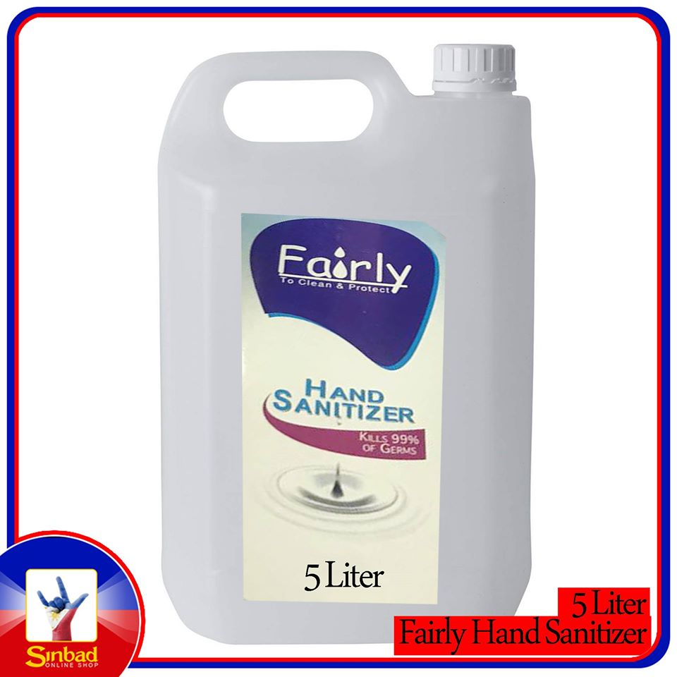 fairly hand sanitizer 5 liter