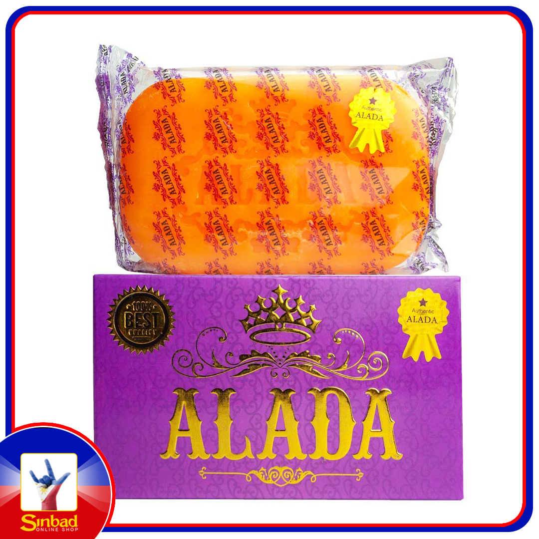 Alada Soap Instant Whitening Body Soap Original (Made in Thailand) 160g