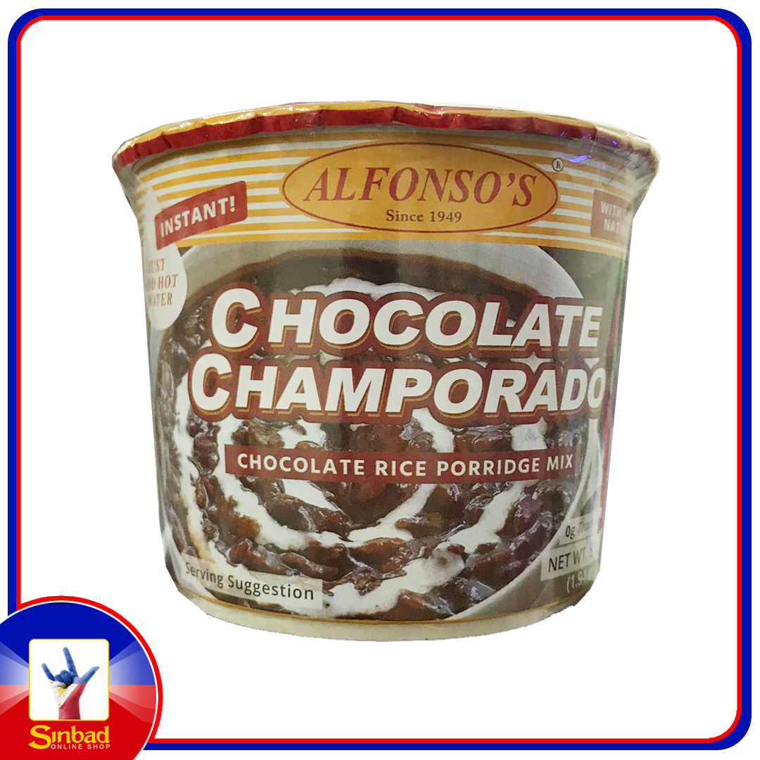 Alfonso'S Chocolate Champorado Porridge 55G