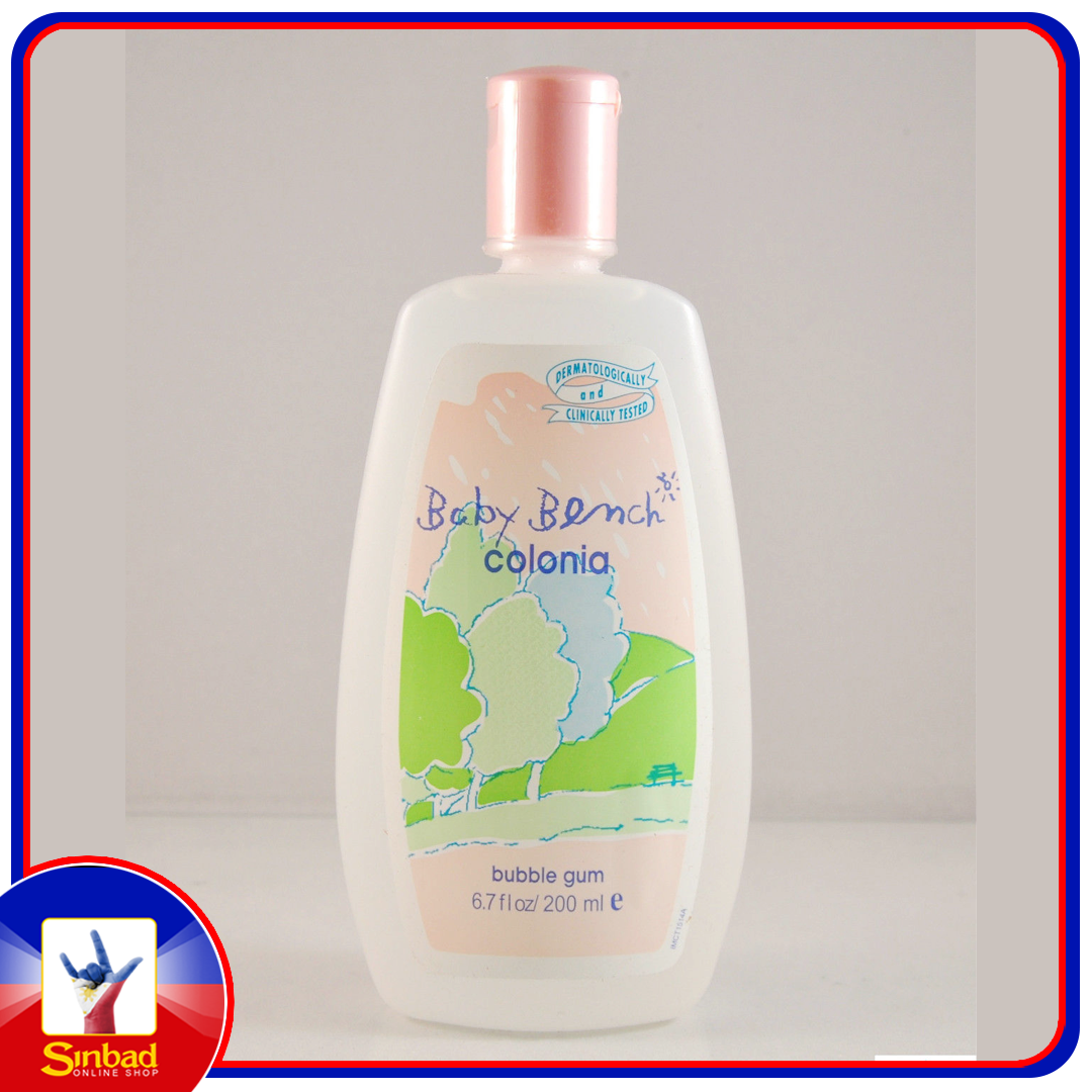 Baby bench cologne bubble gum 200ml