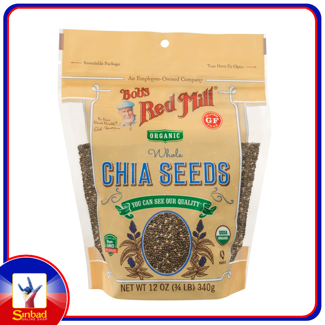 Bobs red mill organic chia seeds 340g