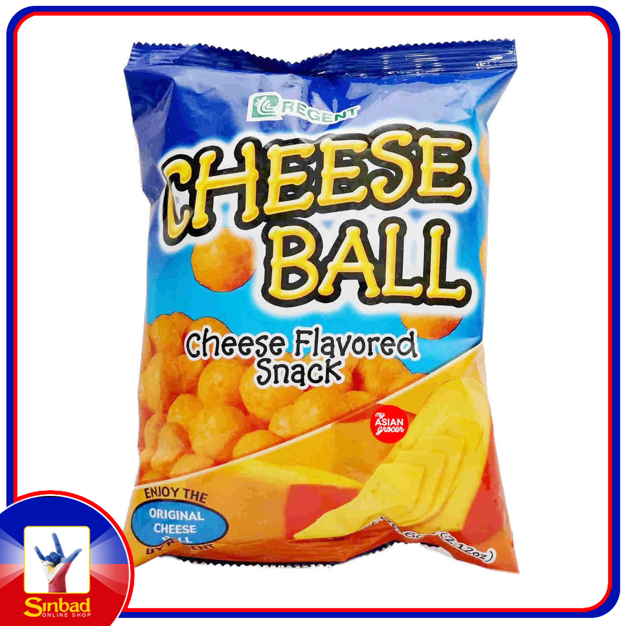 CHEESE BALL CHEESE FLAVORED SNACK