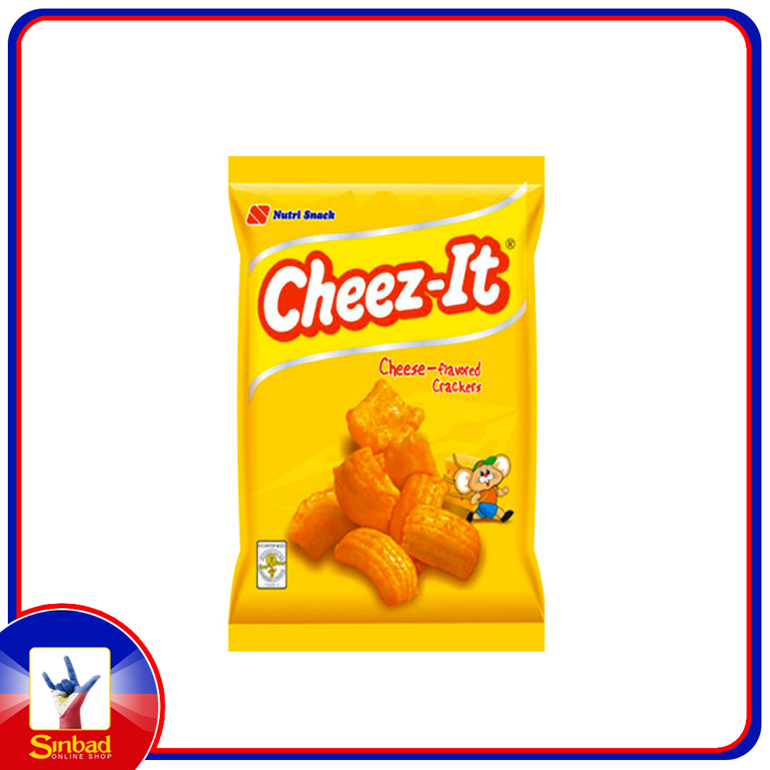 Cheez-it Crackers Cheese Flavored Crackers Cheezit 60g