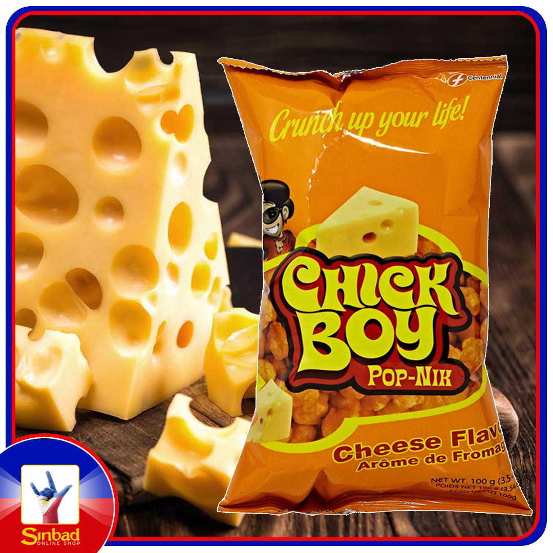 Chick Boy Pop-Nik (Cheese Flavor) 100g