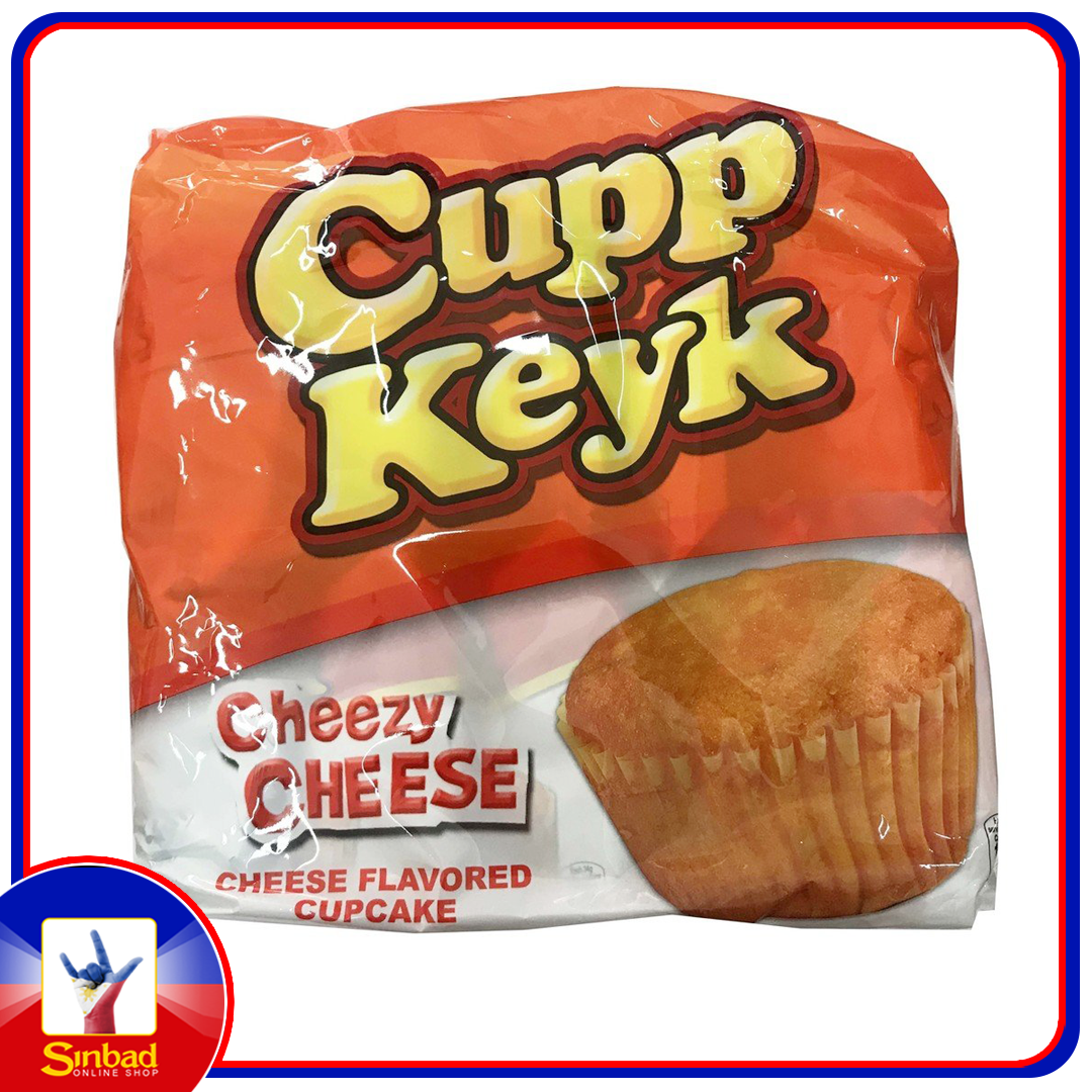 Cupp keyk cheezy cheese 10X34g
