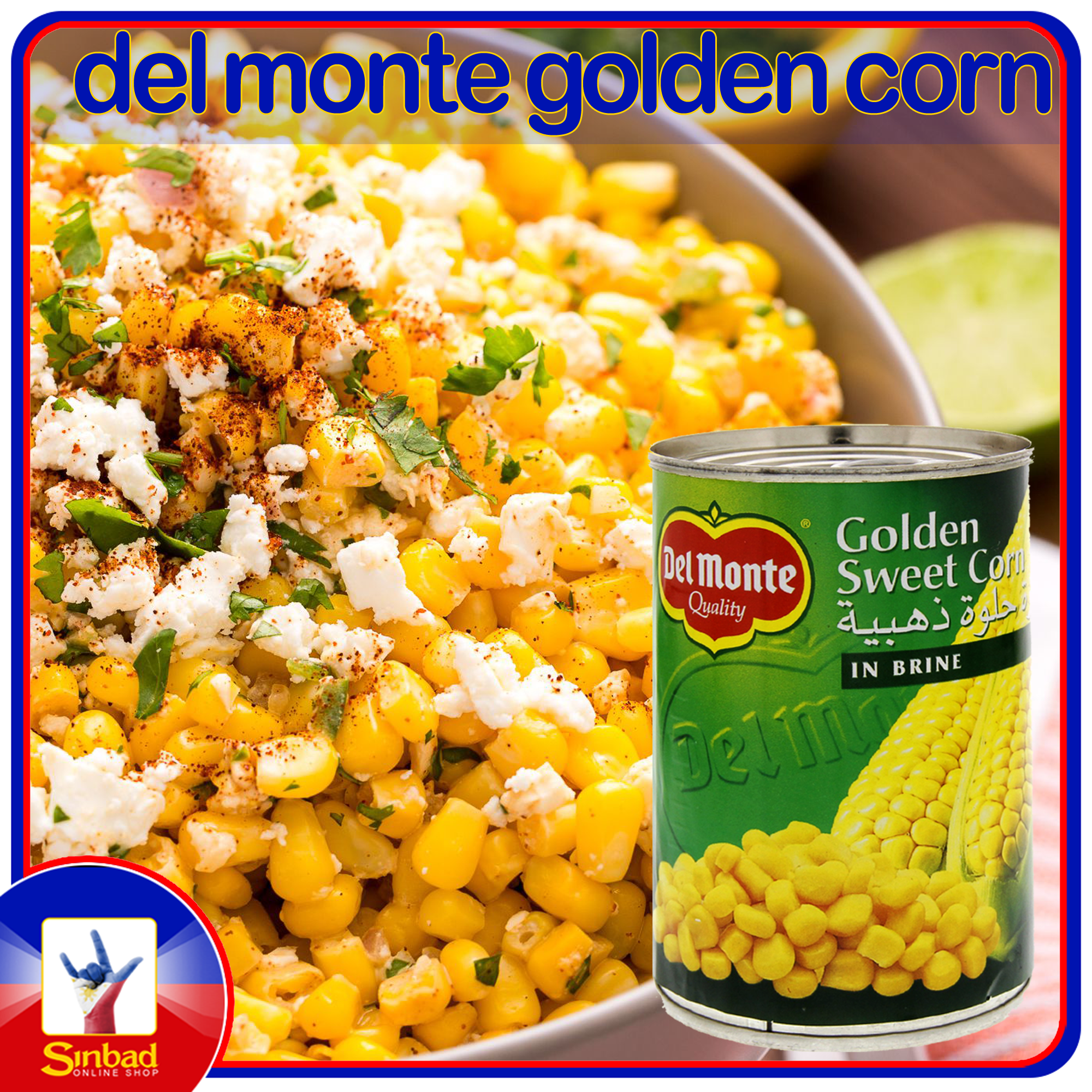 Del Monte Golden Sweet Whole Kernel Corn