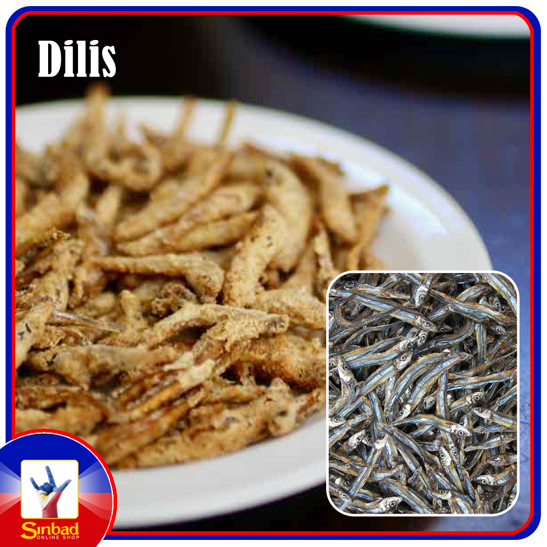 DRIED ANCHOVIES (DILIS) 200g