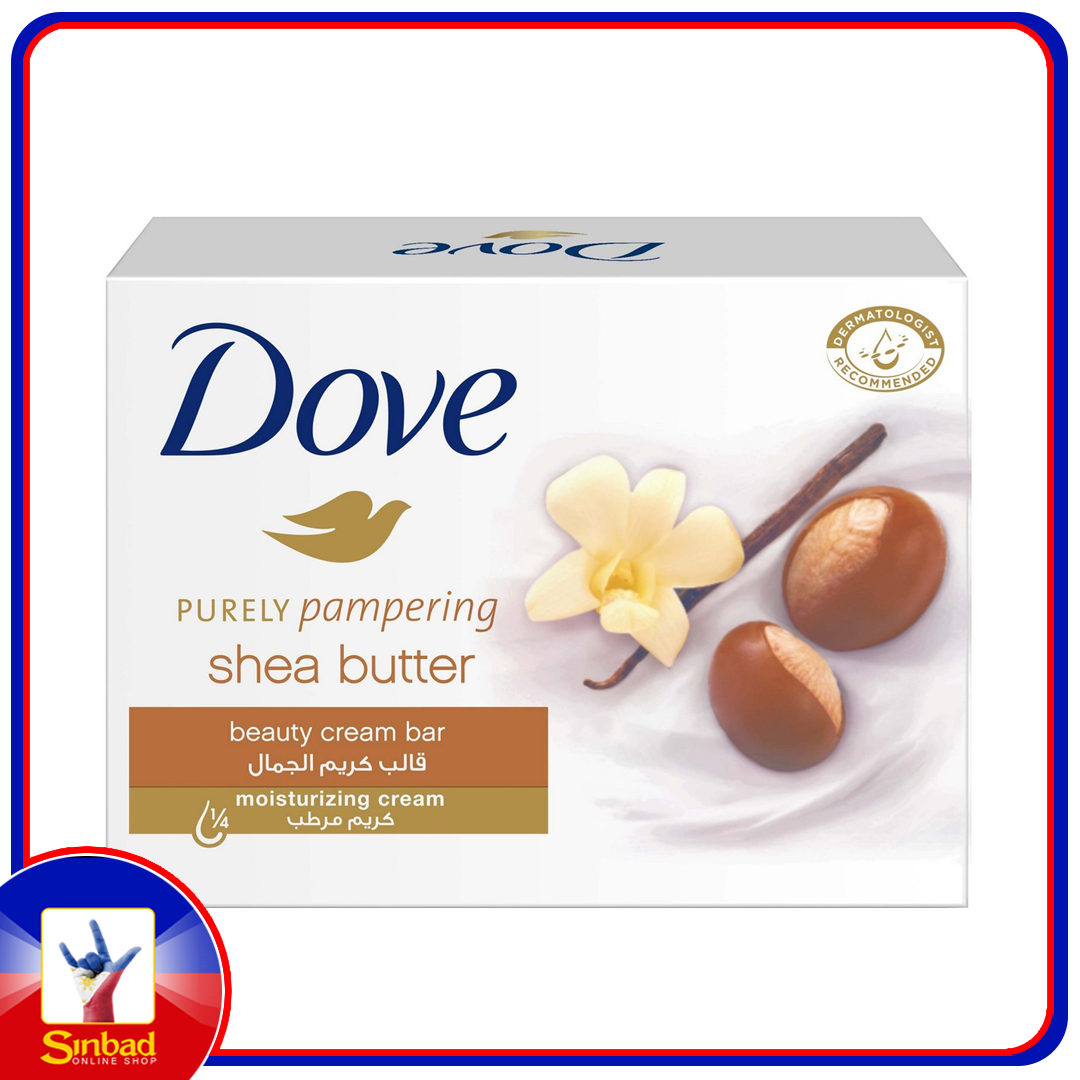 Dove Purely Pampering Beauty Cream Bar Shea Butter 135g