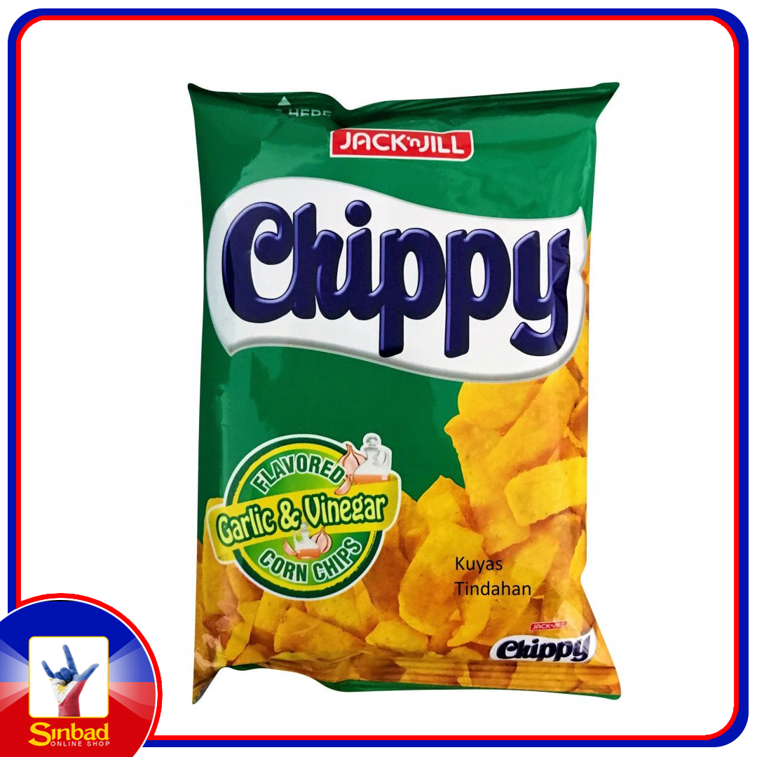Jack 'n Jill Chippy Garlic And Vinegar Corn Chips 110g