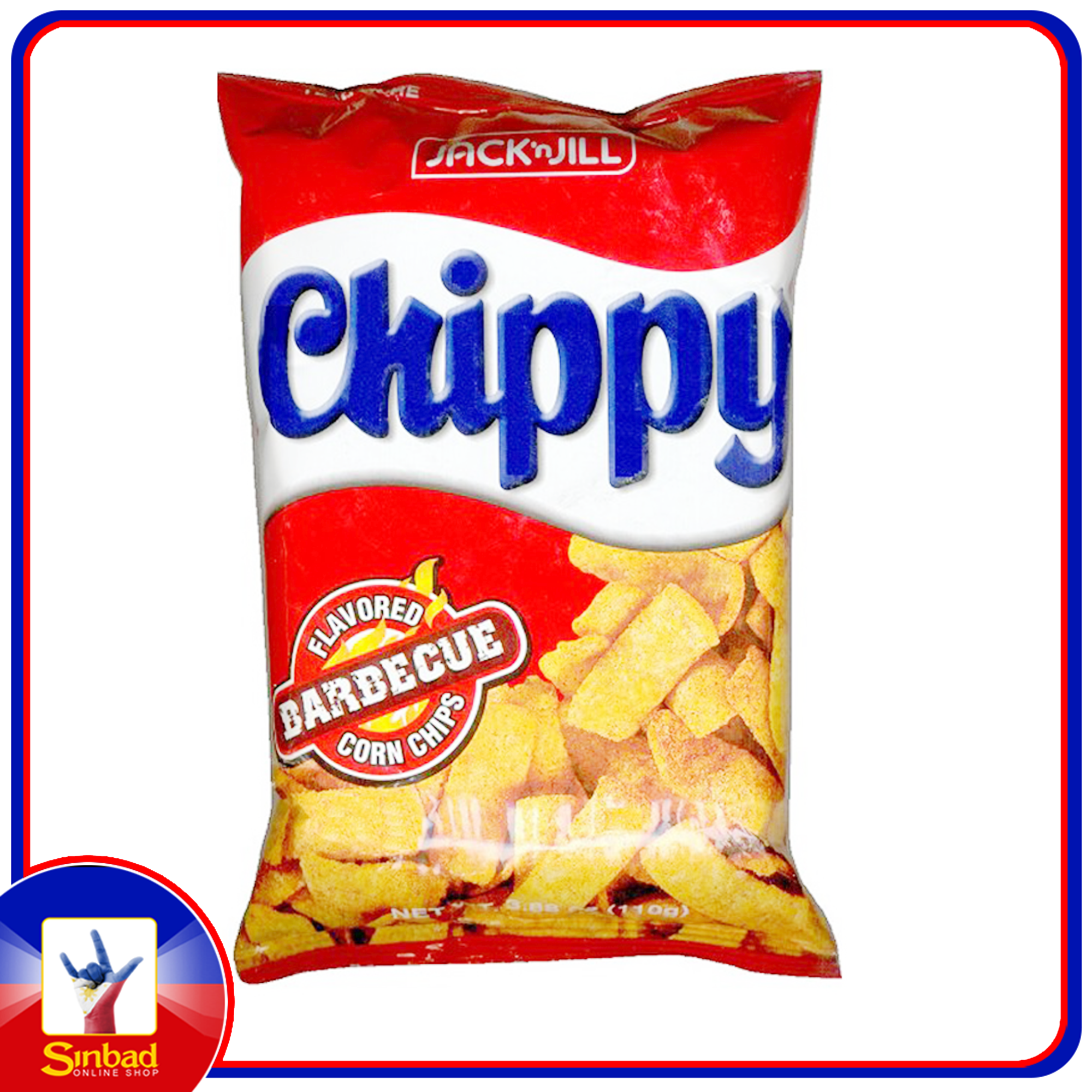 Jack N' Jill CHIPPY BARBECUE CORN CHIPS 110g