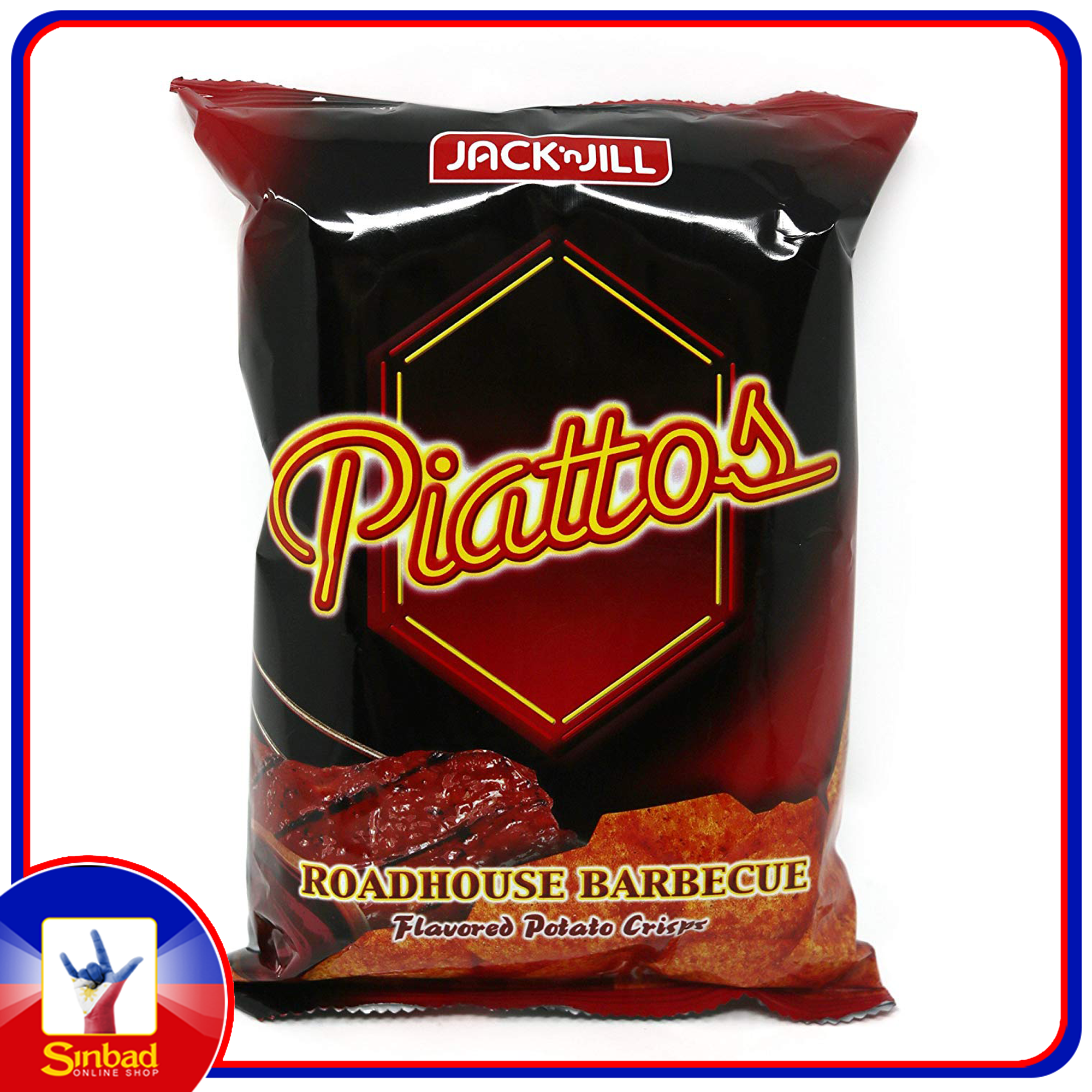 Jack N' Jill Piattos ROADHOUSE BARBECUE 85g