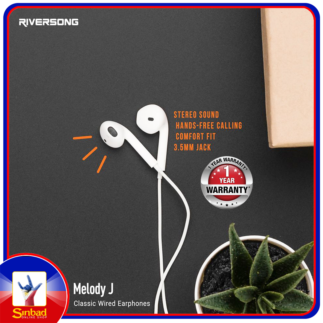 Riversong Melody J Classic Wired Earphones With Official Warranty
