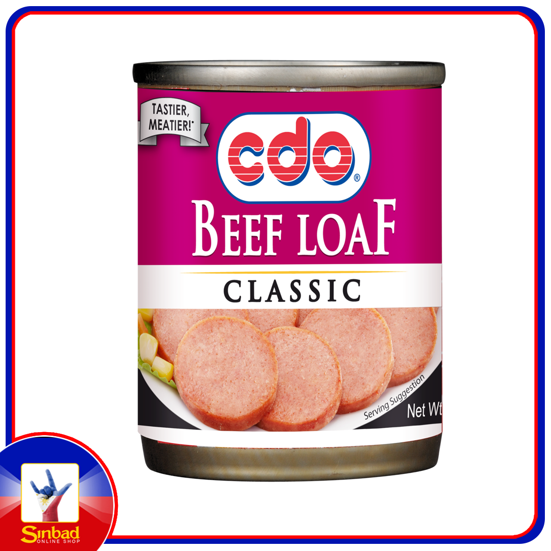 cdo beef loaf classic 210g