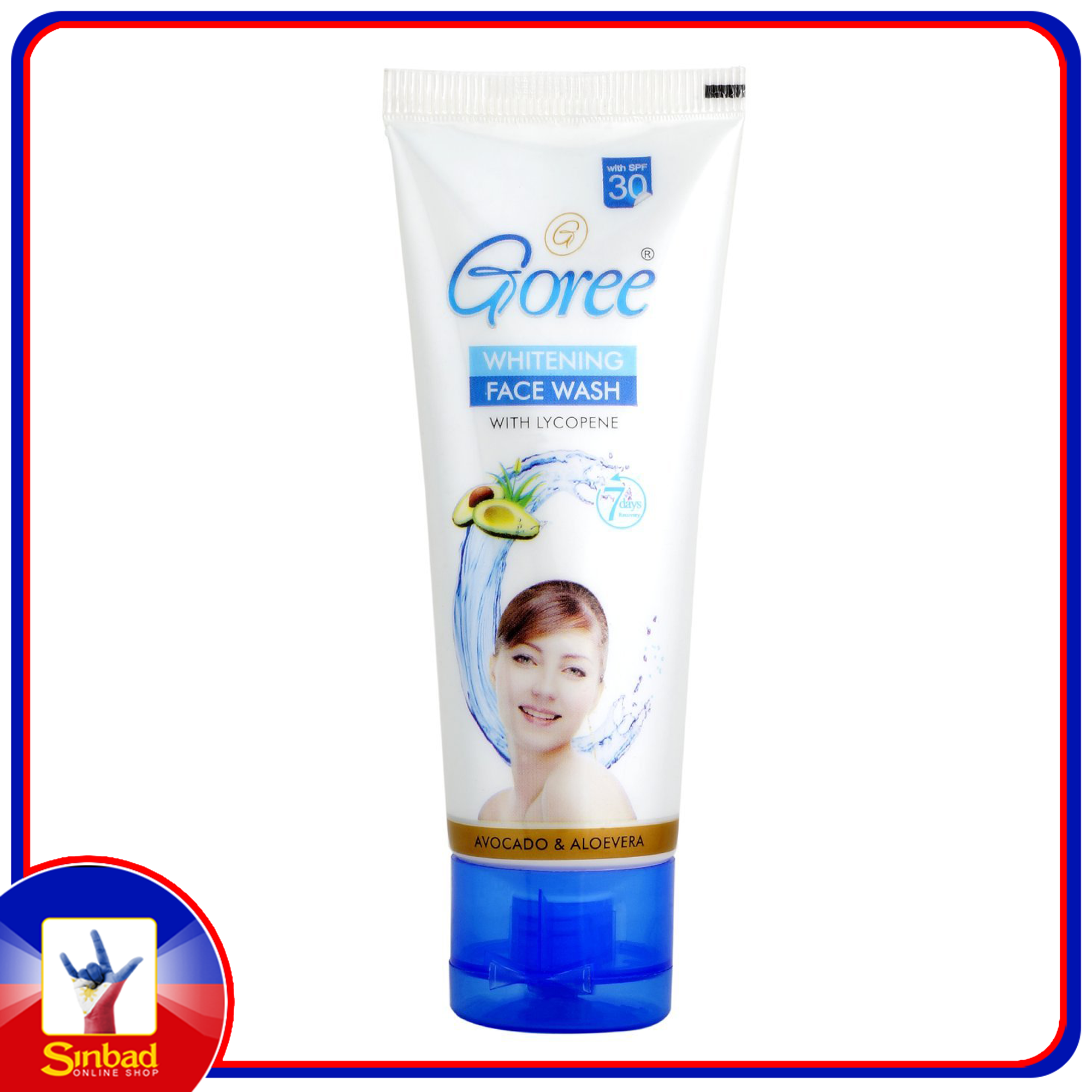 Goree Whitening Face Wash
