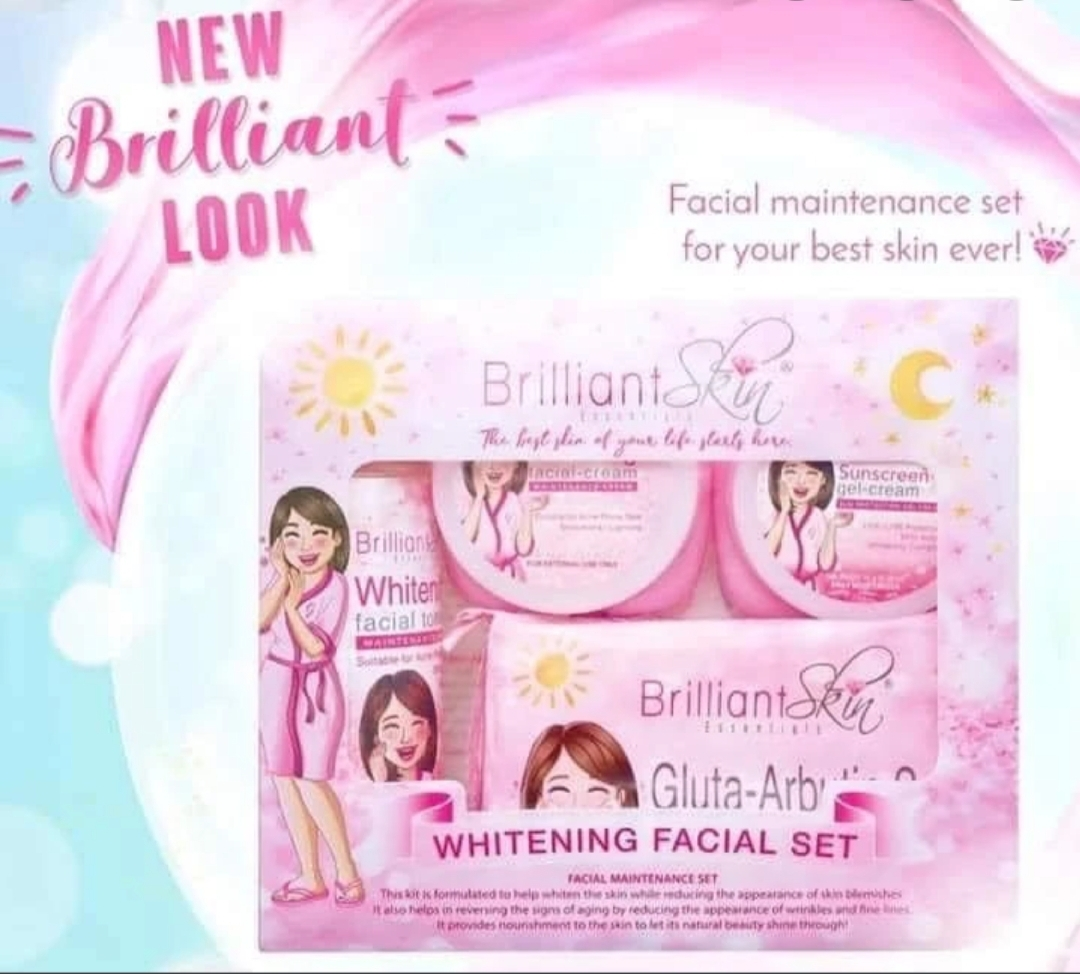 Brilliant whitening set