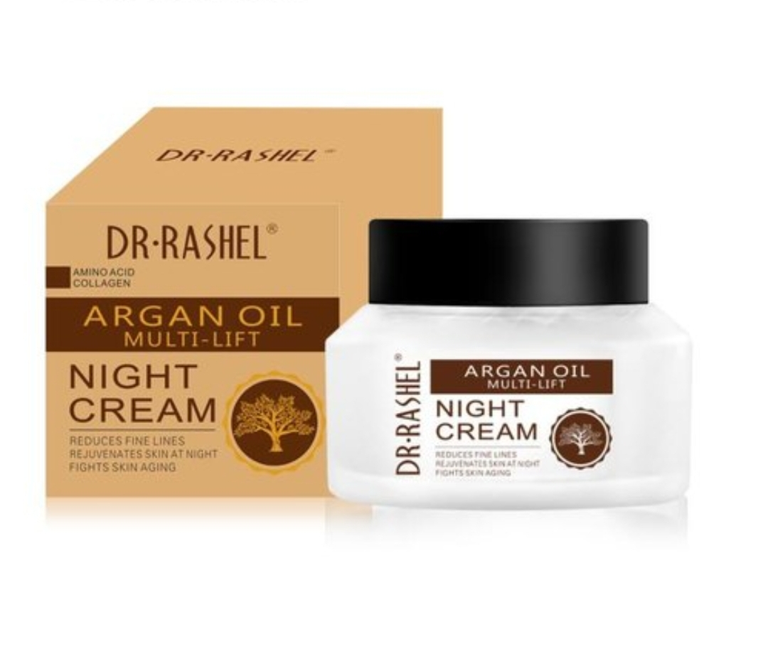 DR RASHEL argan oil night cream