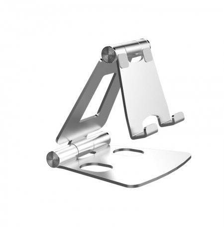 Mobile Phone Holder and Tablet Stand - Silver